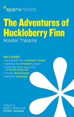The Adventures of Huckleberry Finn (SparkNotes Literature Guide Series)