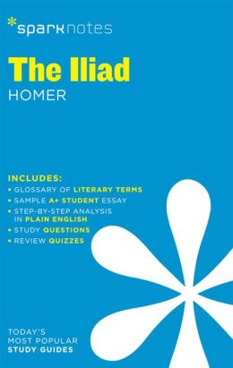 The Iliad (SparkNotes Literature Guide Series)