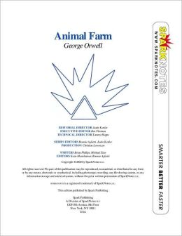 Animal Farm (SparkNotes Literature Guide Series)