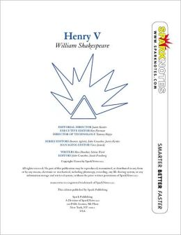 Henry V (SparkNotes Literature Guide)