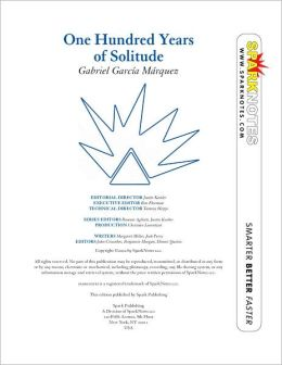 One Hundred Years of Solitude (SparkNotes Literature Guide Series)