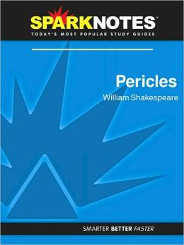 Pericles (SparkNotes Literature Guide Series)