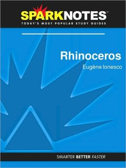 Rhinoceros (SparkNotes Literature Guide Series)
