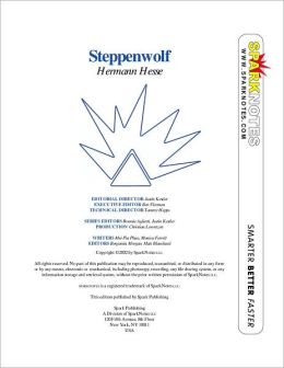 Steppenwolf (SparkNotes Literature Guide Series)