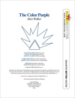 The Color Purple (SparkNotes Literature Guide Series)