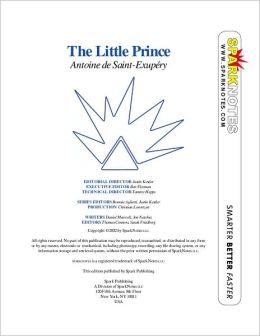 The Little Prince (SparkNotes Literature Guide Series)