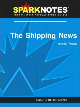 The Shipping News (SparkNotes Literature Guide Series)