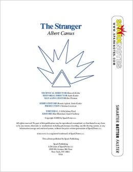 The Stranger (SparkNotes Literature Guide Series)
