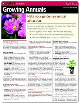 Growing Annuals (Quamut)