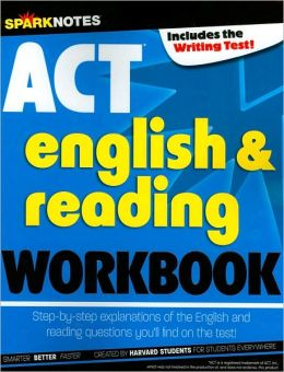 ACT English & Reading Workbook (SparkNotes Test Prep Series)
