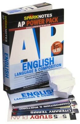 AP English Language and Composition Power Pack (revised) (SparkNotes Test Prep)
