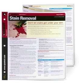 Stain Removal (Quamut)