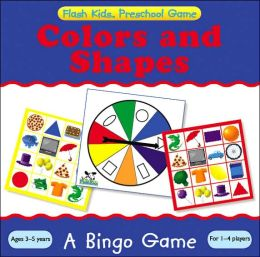 Preschool Games: Colors and Shapes Bingo (Flash Kids Preschool Games)