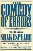 Book Cover Image. Title: The Comedy of Errors (Barnes & Noble Shakespeare), Author: William Shakespeare
