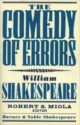 The Comedy of Errors (Barnes & Noble Shakespeare)