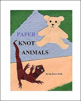 Paper Knot Animals