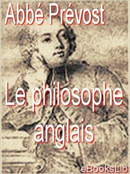 Le philosophe anglais
