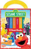 Book Cover Image. Title: Sesame Street (My First Library), Author: Publications International Staff