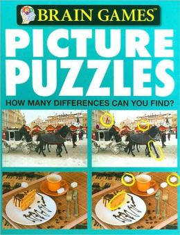 Brain Games: Picture Puzzles (Brain Games Series)