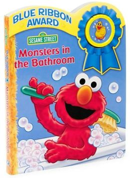 Sesame Street Monsters in the Bathroom