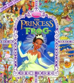 The Princess and the Frog: Look and Find