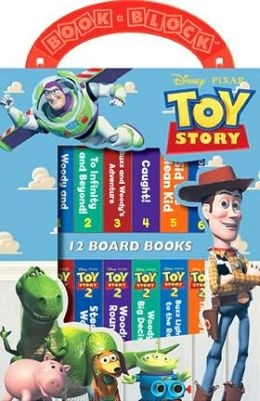 Toy Story Book Blocks