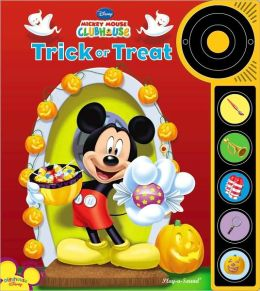 Trick or Treat - Doorbell Sound Book (Mickey Mouse Clubhouse)