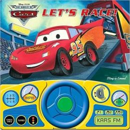 Cars: Let's Race Steering Wheel Sound Book