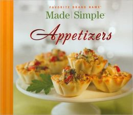 Favorite Brand Name: Made Simple Appetizers