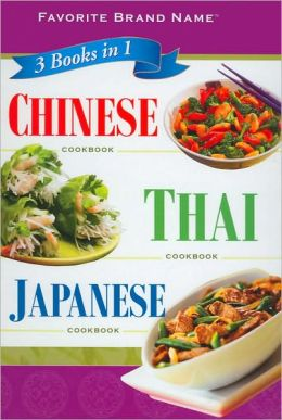 3 Books in 1 Chinese Thai Japanese Cookbook