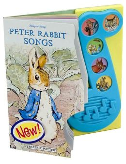 Peter Rabbit Songs: 5 Button Little Music Note