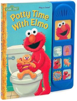 Potty Time with Elmo: 7 Button Little Sound Book (Play-a-Song Series)