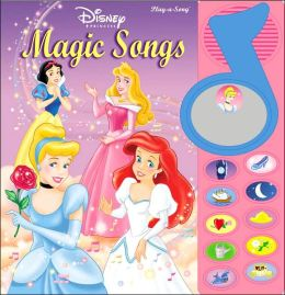 Disney Princess Magic Songs (Surprise Mirror Book Series)