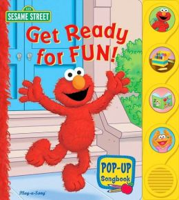 Elmo Gets Ready for Fun: Little Pop up Songbook