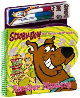 Scooby Doo! Number Mystery: My Wipe-Off Shape Book