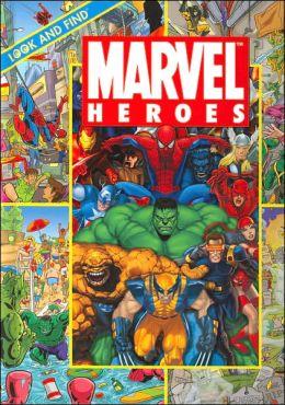 Marvel Heroes: Look & Find