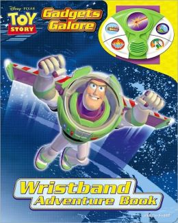 Disney Pixar Toy Story: Gadgets Galore (Wristband Adventure Book)