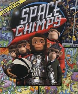Space Chimps Look and Find