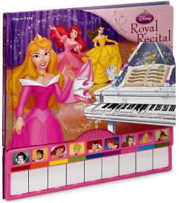 Disney Princess Royal Recital Piano Book