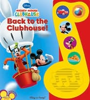 Back to the Clubhouse! (Mickey Mouse Clubhouse Series)