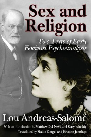 Sex and Religion: Two Texts of Early Feminist Psychoanalysis