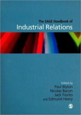 The SAGE Handbook of Industrial Relations