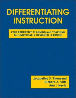 Differentiating Instruction: Collaborative Planning and Teaching for Universally Designed Learning