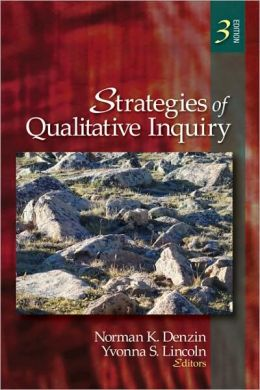 Strategies of Qualitative Inquiry, 3rd Edition