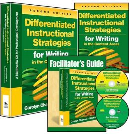 Differentiated Instructional Strategies for Writing in the Content Areas (Multimedia Kit): A Multimedia Kit for Professional Development