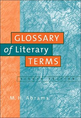 A Glossary of Literary Terms