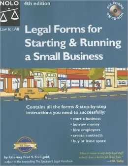 Legal Forms for Starting and Running a Small Business