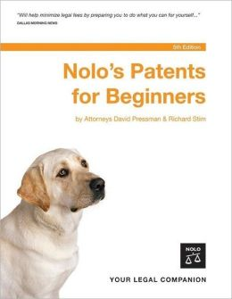 Nolo's Patents for Beginners