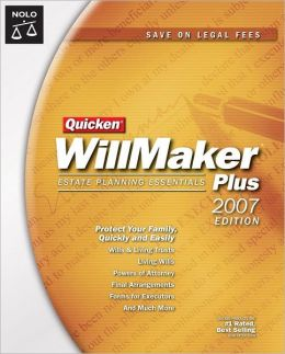 Quicken Willmaker Plus 2007 Edition: Estate Planning Essentials