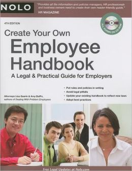 Create Your Own Employee Handbook: A Legal & Practical Guide